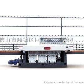 巨钢深工供应直线玻璃圆边机JGYM7320可任意变换加工速度