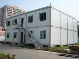 青岛金土地活动板房产品材质:钢+保温墙板