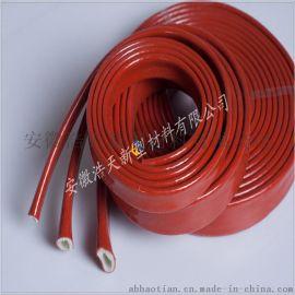 大量供应天津防火套管厂家价格 耐高温套管 硅橡胶 黑