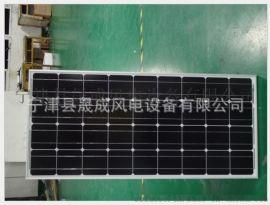 厂家直销  单晶**300W足功率太阳能电池板