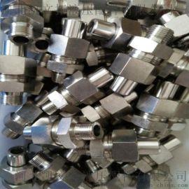 厂家直销 外丝直通美制外螺纹接头 高品质不锈钢液压接头