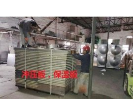 吉盛大量生产批发5公分聚氨酯发泡不锈钢水箱保温板
