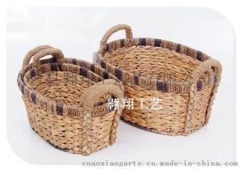 水葫芦草收纳筐basket
