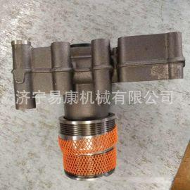 康明斯QSX15发动机 水泵原装进口4089909/4089910