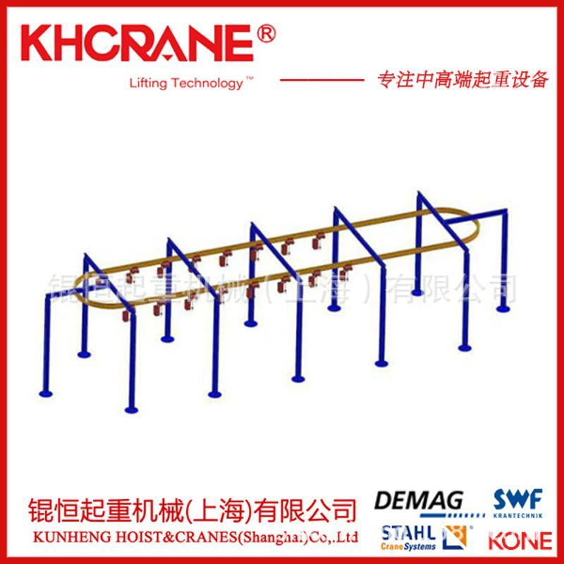 KBK轨道用配件电缆滑块 手动式小车 集电器 吊挂装置 端盖 吊挂环