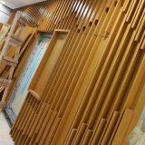 广东木纹铝方管 德普龙质量保证铝型材方管 餐厅墙面木色铝方管