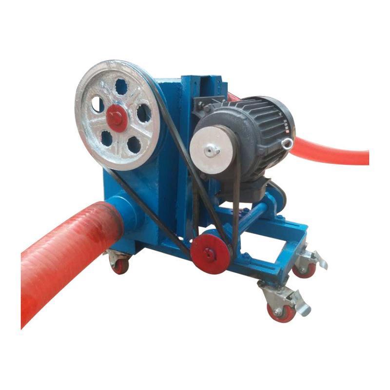 橡膠軟管車載吸糧機電動式車載輸送機6米長管式吸糧機