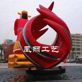 厂家定做水景艺术雕塑喷水喷泉定制 玻璃钢水景火焰雕塑定制艺术