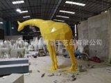 玻璃鋼草皮大象雕塑 園林公園擺件草皮造型綠植動物卡通雕塑類