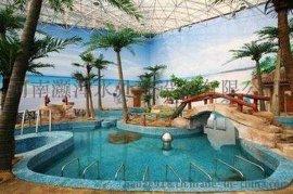 河南省供应砂钢景观鱼池水处理器、重力式游泳池水体精滤机设备、水过滤系统