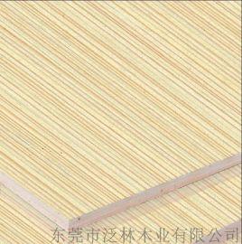 泛林 栓木木皮饰面板 室内装修用板 客房装修材料
