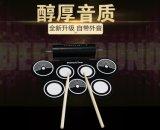 科匯興新款加厚電子鼓雙喇叭硅膠手卷架子鼓USB電子鼓批發