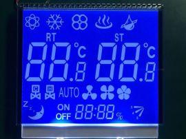 空调LCD液晶屏 温控器显示屏 饮水机液晶显示器 智能水杯VA屏-制造专家