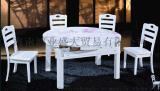 泰国进口橡木餐桌 圆桌 方桌 可折叠餐桌 带电磁炉餐桌 休闲桌 实木桌