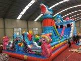 河南洛阳儿童充气城堡夏季狂欢节