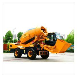 直銷自鏟自卸自攪拌車 四驅1.6方4方混凝土運輸車