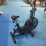健身风阻单车风扇磁控健身车减脂新宠自行车