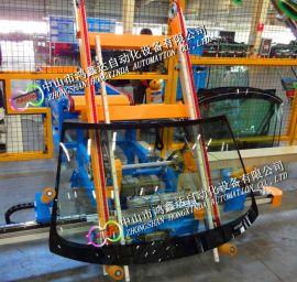 佛山玻璃陶瓷生产线翻转机输送机流水线