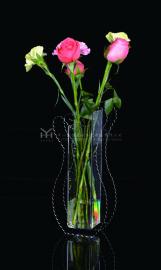 透明花瓶鱼缸 水晶花瓶