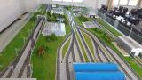 轨道交通教学沙盘模型 18511712876