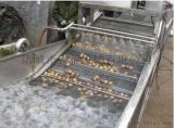 不锈钢气泡喷淋海产品清洗机