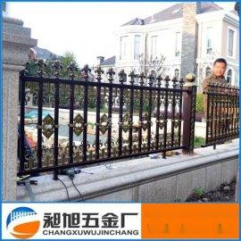 厂家直销铝艺栅栏 铝合金别墅花园围墙护栏 **欧户外庭院围栏
