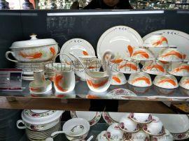 手绘陶瓷餐具定制厂 陶瓷餐具制作