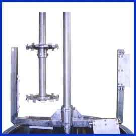 无锡银燕供应液压升降带刮壁分散搅拌机