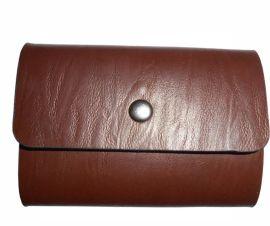 方振箱包定制批发生产真皮银行卡套 活页卡包可设计添加logo
