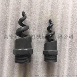 碳化硅螺旋喷嘴、实心锥脱硫喷嘴
