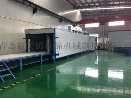 水平自动连续发泡机用于家私绵的生产线海绵沙发的生产