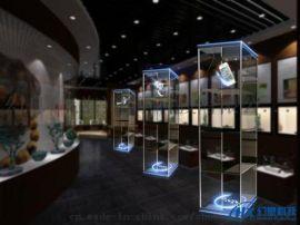 全息投影展柜 全息幻象投影柜 3D投影3d展示柜 全息幻象玻璃