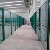成都車間倉庫隔離鐵絲網車間防護網邊框護欄網
