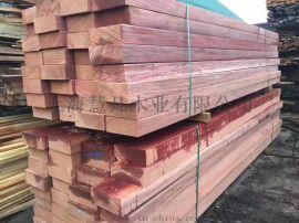 柳桉木紅柳桉黃柳桉防腐木定制,戶外便宜柳桉木價錢