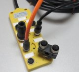 profibus协议M12现场总线接线盒执行器总成