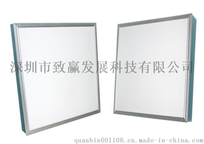 致赢批发600*600面板灯办公室直发光LED平板灯