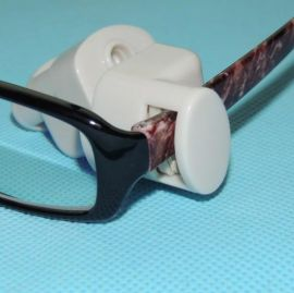 眼镜防盗扣