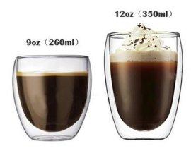 玻璃双层杯/咖啡杯/厂家定做