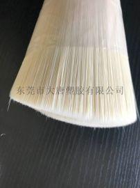 出口PBT化妆刷丝原丝机械植毛专用毛头丝线