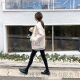 卡拉贝斯品牌服装店进货渠道折扣 小品牌女装批发尾货橘色大码女装