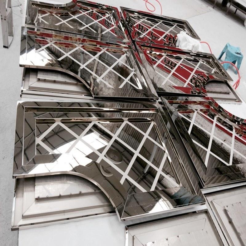 不锈钢板表面处理专家,拉丝,蚀刻,