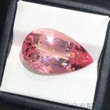 23.43克拉水滴形粉色摩根石