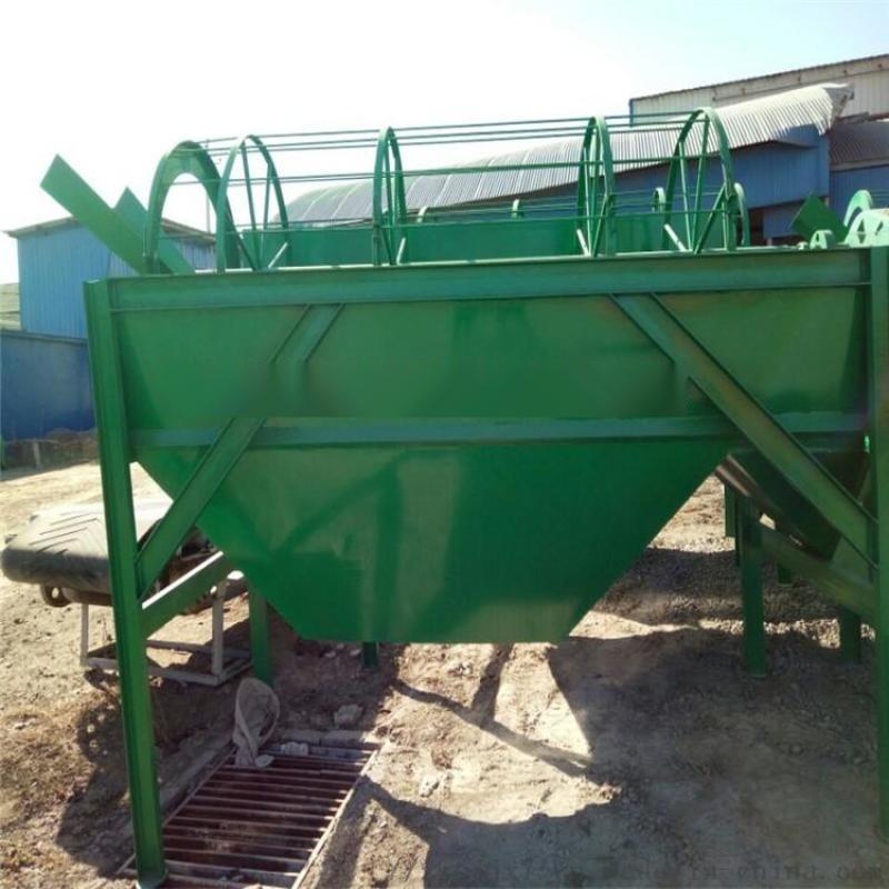 转筒筛分机生产 复合肥料除杂筛沙机 垃圾滚筒筛分机