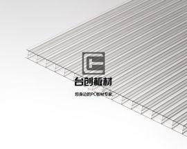 犍为县、井研县6mm乳白阳光板 6mm透明阳光板