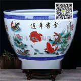 景德镇陶瓷缸 大口径养鱼缸 荷花缸种树盆栽瓷器缸