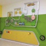 幼儿园科学室齿轮墙