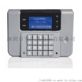 广西扫码刷卡机特点 人脸量温安全用餐扫码刷卡机