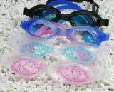 (G3100)PVC连体游泳镜 游泳眼镜 泳镜