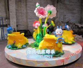 蜜蜂转杯郑州峻宝小型儿童游乐设备游乐设备