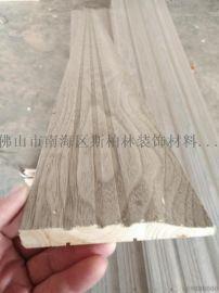 佛山斯柏林DJX-2200实木涂泥印刷踢脚线防水